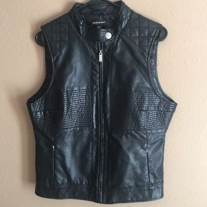 Bebe Moto Vest size large